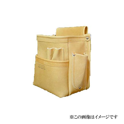 【代引き不可】KNICKS(ニックス) KN-201DDSP 総グローブ皮仕上腰袋フチ/総グローブ革テープ巻