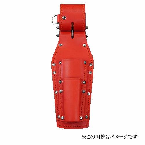 【代引き不可】KNICKS(ニックス) KR-301PDX チェーン式ペンチ・ドライバーホルダー レッド (ペンチ差し 工具袋 ツールホルダー)