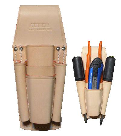 【代引き不可】KNICKS(ニックス) KN-501PLL 8・9インチペンチ・ドライバーホルダー (ペンチ差し 工具袋 ツールホルダー)