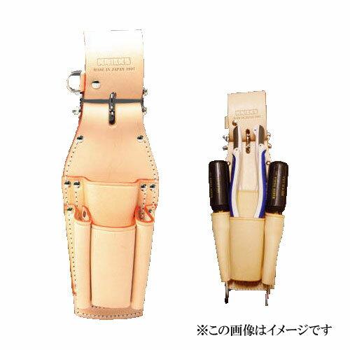 【代引き不可】KNICKS(ニックス) KN-401PLLDX チェーン式ペンチ・ドライバーホルダー (ペンチ差し 工具袋 ツールホルダー)