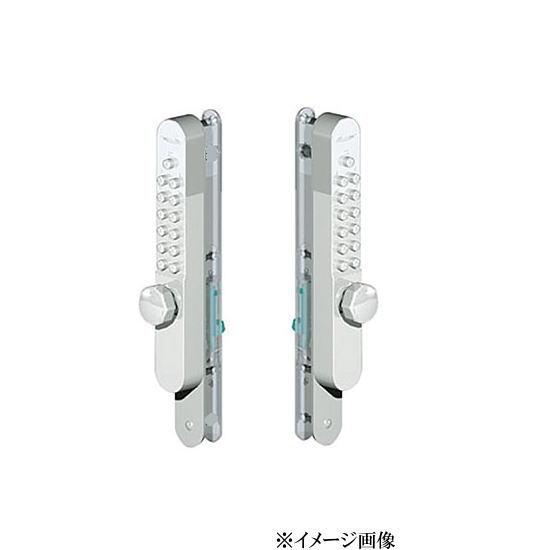 長沢製作所 キーレックス800 引違い戸自動施錠 鍵付 両面ボタンタイプ # K897TM