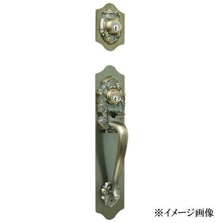 長沢製作所 古代 ツーロック ケースロック取替錠(ワンロック仕様)924066