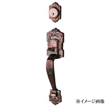 長沢製作所 いつでも送料無料 高級な 古代 装飾玄関錠 ミラノ 23036GB 旧品番23035GB T-303