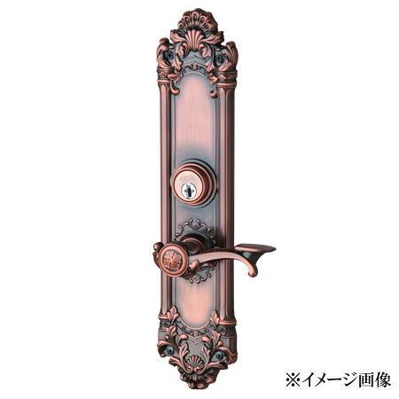 長沢製作所 古代 装飾玄関錠 セントリー K-101 24005GB (旧品番24004GB)