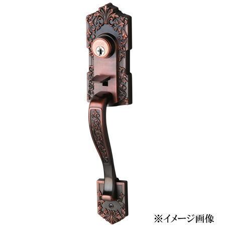 長沢製作所 古代 装飾玄関錠 アスカ TU-203 ワンロック 24506GB (旧品番24505GB)