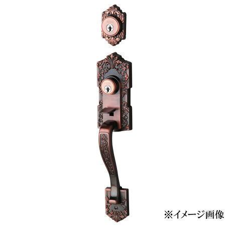 長沢製作所 古代 装飾玄関錠 アスカ TU-203 ツーロック 24511GB (旧品番24510GB)