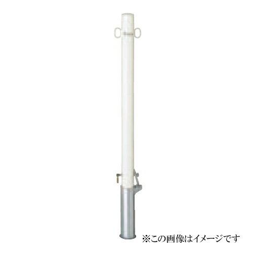 サンキン メドーマルク(車止め) ポストタイプ FP2-6SK 鉄製(メーカー直送品 代引き・後払い不可)