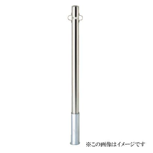 サンキン メドーマルク(車止め) ポストタイプ SP2-6S ステンレス製(メーカー直送品 代引き・後払い不可)