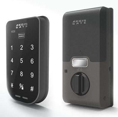 次世代キーレスシステムAEGIS GATE イージスゲート(電子錠 タッチパネル ICカード 鍵 ドアセキュリティー 防犯グッズ 通販)