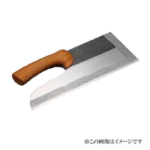 セキカワ そば切包丁 蕎麦包丁 [左藤蔵] (黒打ち半磨き 33cm 木柄) HS-1008 右利き用