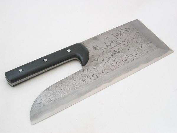 セキカワ そば切包丁 蕎麦包丁 [左藤蔵] (背厚積層鋼 33cm 直柄) HS-1021H 右利き用