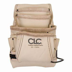 【CLC Custom Leathe】CLC 179354 腰袋 皮トップグレイン10ポケット金