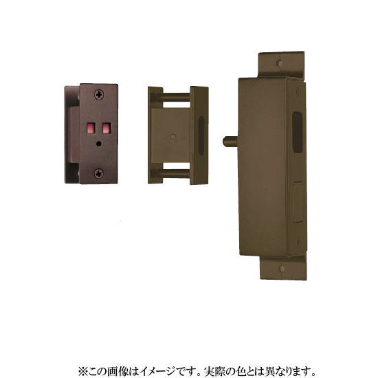 エイト セール特価 アウトセットプッシュ錠 表示付 至上 仕上げ色:シルバー OU-210