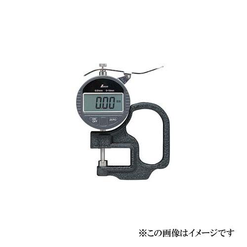 シンワ測定 デジタルシックネスキャリパー A 0.01mm/10mm ハンドル付 73746