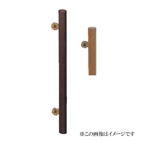 シロクマ 白熊印・ドアー取手 No.179自然木丸型取手 600
