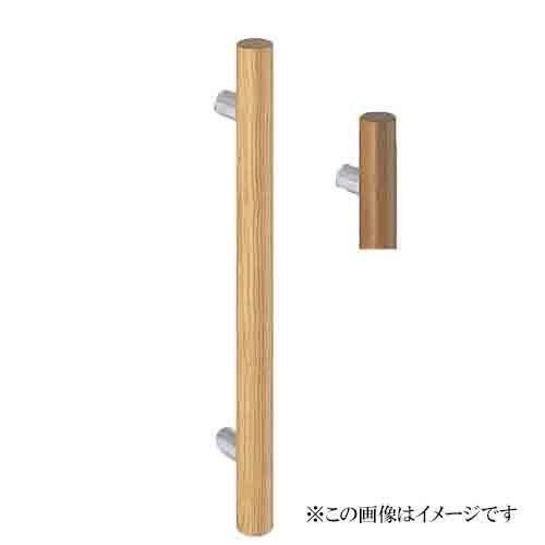 シロクマ 白熊印・ドアー取手 No.222自然木丸形取手