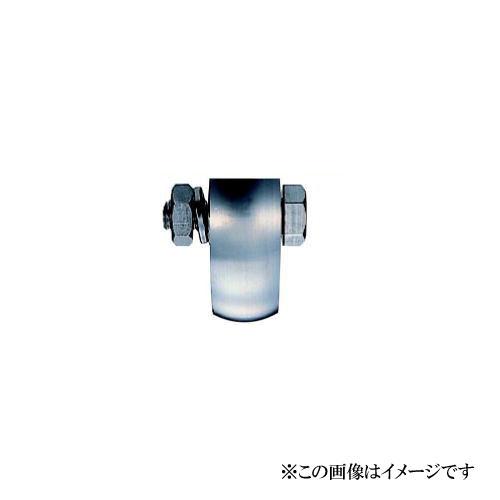 ヨコヅナ JCP-1008 440Cベアリング入 ステンレス重量戸車 山R車型 100mm(車のみ) / 1個