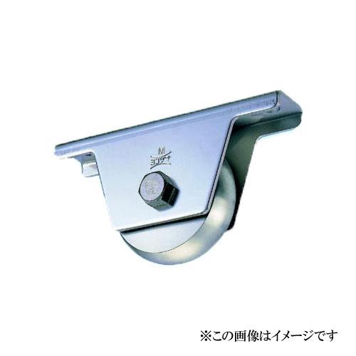 ヨコヅナ JBS-1008 ステンレス重量戸車 山R車型 100mm / 2個入