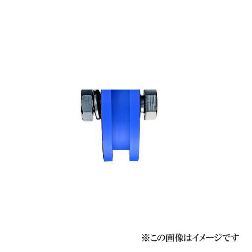 ヨコヅナ JMP-2006 MC防音重量戸車 H型 200mm(車のみ) / 1個