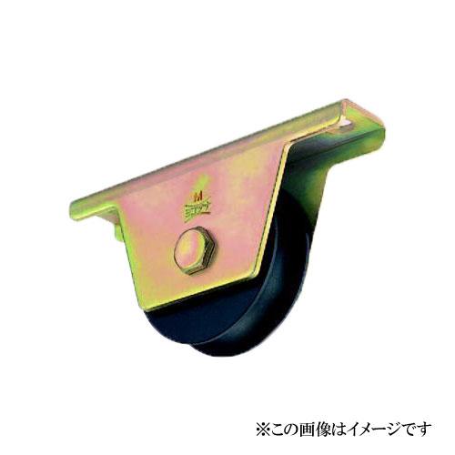 ヨコヅナ JHM-1051 鉄重量戸車 溝R車型 105mm / 2個入