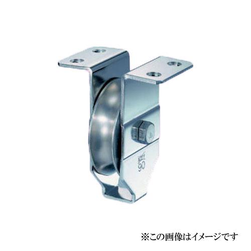 ヨコヅナ HBSN-1001 HプーリーN型 溝R車型 100mm / 1個