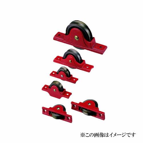 登場! 75mm ヨコヅナ / 鋳物枠ローラー戸車 4個入:Toda-Kanamono RJC-0902 平型-DIY・工具