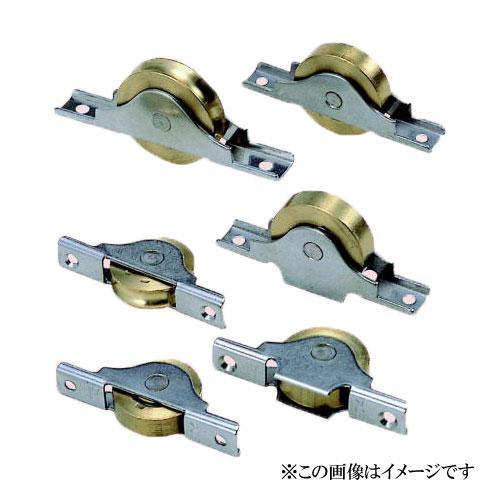 ヨコヅナ BTS-0401 ベアリング入真鍮戸車 丸型 40mm / 8個入