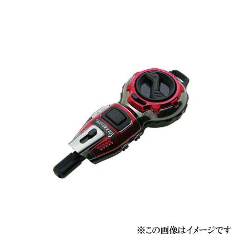 ハンディ墨つぼ 新品未使用 Jr. Plus自動巻 タフライン メタルレッド 新入荷 流行 73289 シンワ測定