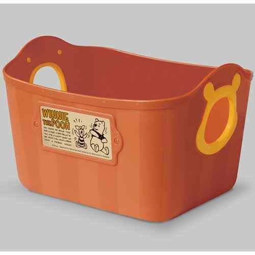 【市場価格】 【Disney(ディズニー)】【日本製】やわらかバケツ2個セット「くまのプーさん (ダークオレンジ)」