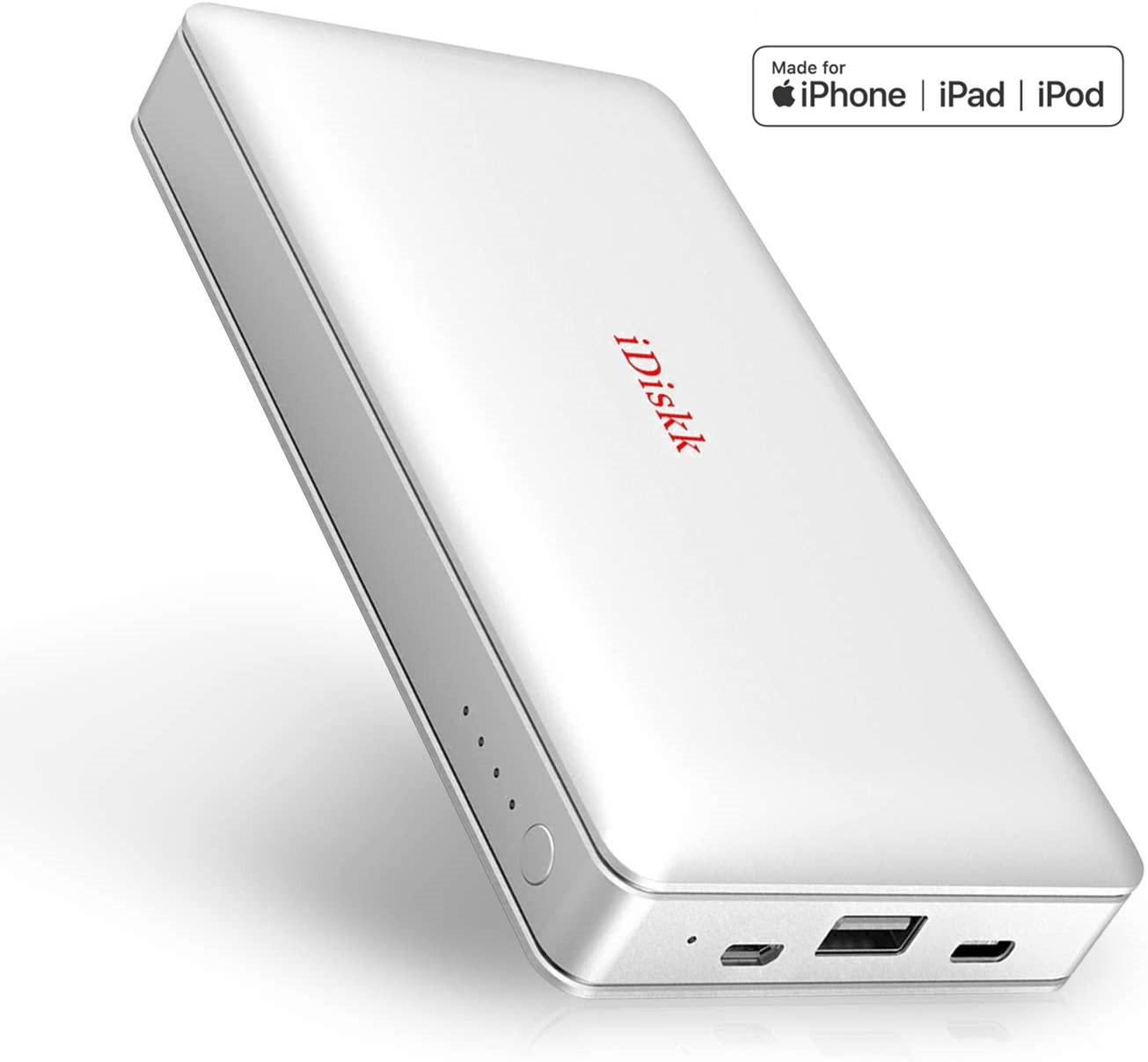 Android Mackbook PC iPad pro Air mini iPhone 12 11 X XR XS MAX SE 8 数量限定アウトレット最安価格 7 6 人気のusb iOS13 1TB ストレージ けハードドライブ メモリ 卓抜 フラッシュ 外付けhdd 対応 iphoneランキング 1024GB 自動バックアップ フラッシュドライブ Android対応 ディスク 14 iDiskk Apple認証 iOS Lightning