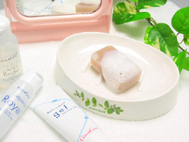 Aqua la セヒ あ 18 g high-quality face-wash soap travel size