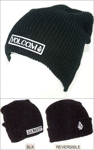 Beanie In Black - Black Volcom