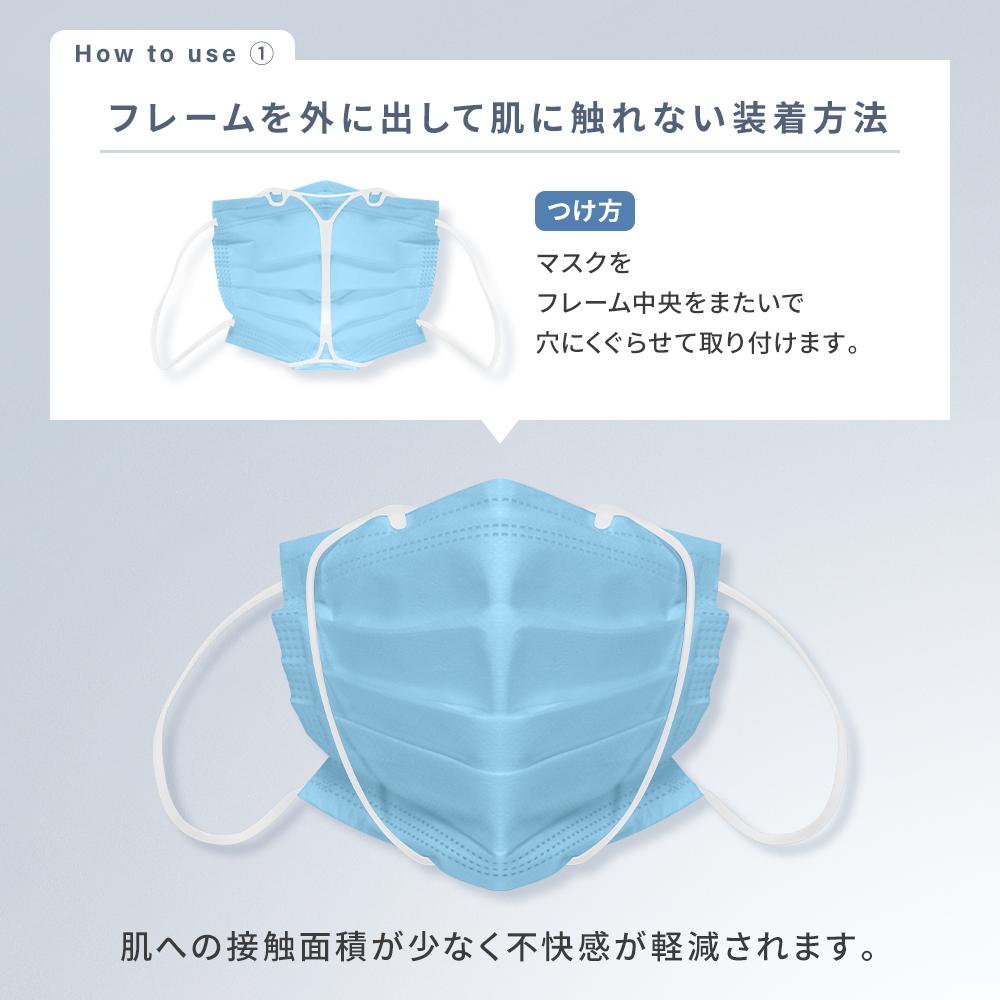 マスク 蒸れ ない 方法