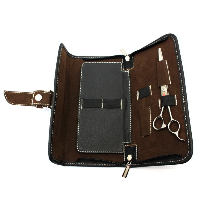 送料無料 4丁用シザーケースAE013 はさみ 人気の製品 ハサミ シザーバッグ 美容師 ハサミケース 驚きの値段 トリマー シザーバック