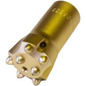 削岩機用ボタンビット 美品 22H×穴径44mm削岩機 ビット 三菱 高級な 穴開け コンクリート 22型ボタンビット 石