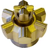 【お買い得!】 【送料無料】親子ビット 22H×穴径120mm:トーカク機工株式会社-DIY・工具