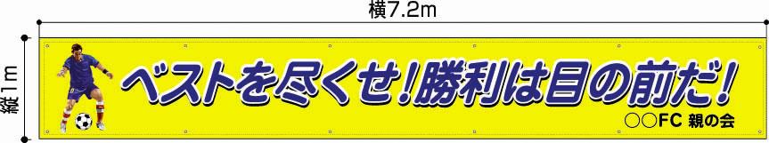 横断幕・団旗 100x720