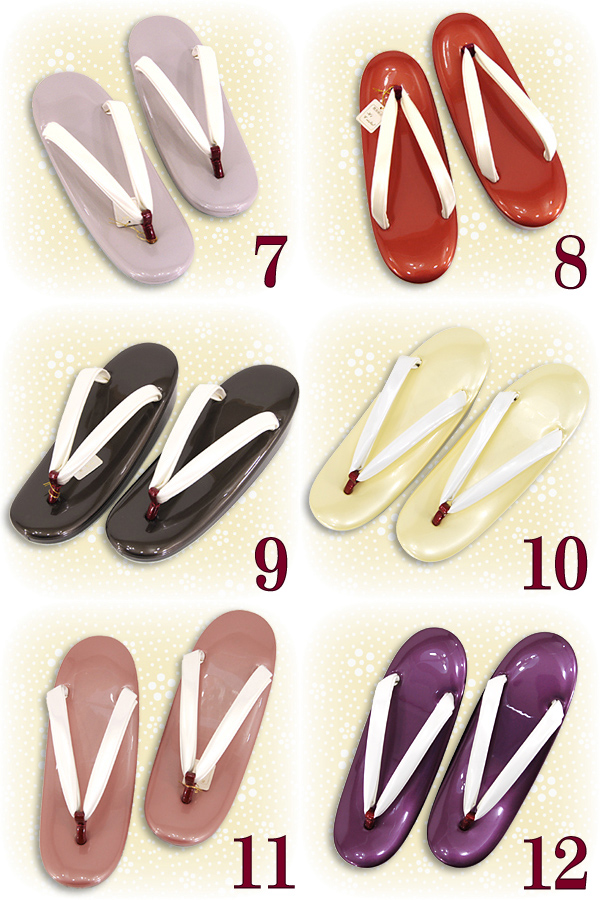 Product made in Japan simple cute small size of a book enamel sandals