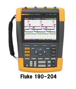 スコープメータ Fluke190-104S(ソフトウェア他一式付き)