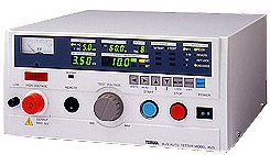 鶴賀電機 自動耐電圧絶縁試験器 8525