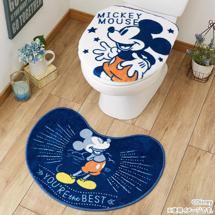 Surprising Restroom Two Points Set Cover Cover Restroom Mat For Washing The Heating Toilet Seat Disney Mickey Cover Cover Restroom Mat Sb 416 Ncnpc Chair Design For Home Ncnpcorg