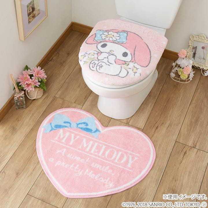 Enjoyable Restroom Two Points Set Cover Cover Restroom Mat For Washing The Heating Toilet Seat Sanrio Mai Melody Cover Cover Restroom Mat Sb 417 Ncnpc Chair Design For Home Ncnpcorg
