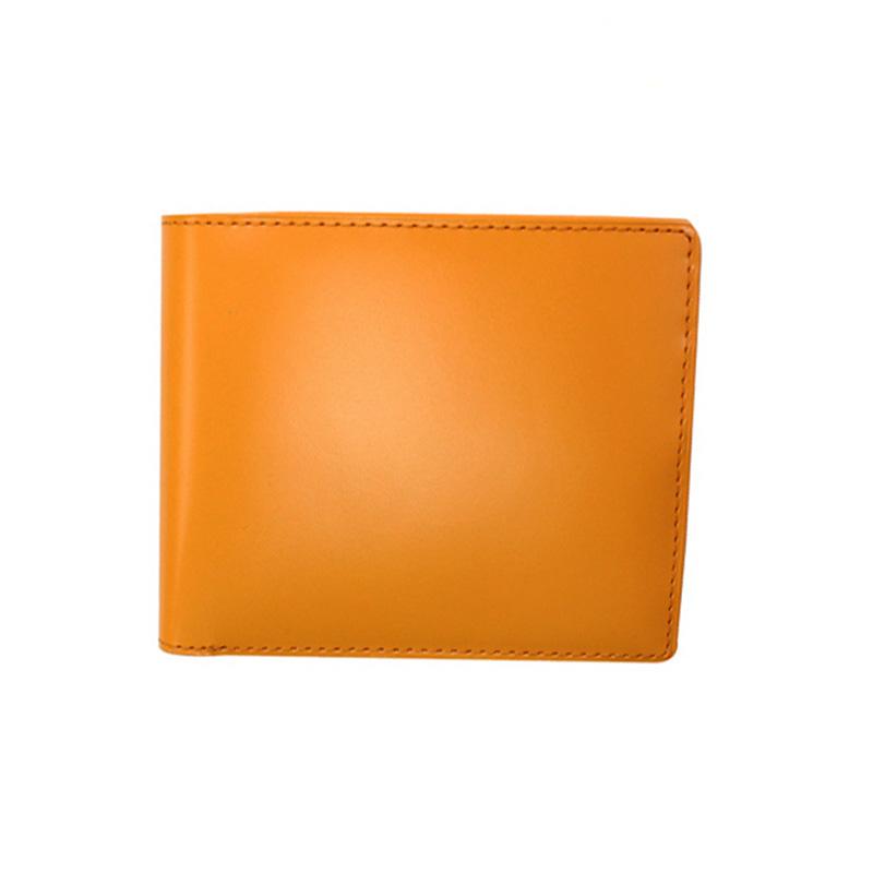 【お取寄せ品】バンビ 松阪レザー 折財布 オレンジ 日本製 MLK002O-Z