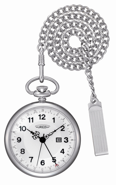 【お取寄せ品】オレオール(AUREOLE) ポケット(懐中)時計SW-493M-3【smtb-tk】
