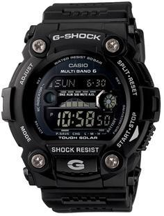 【特価品】カシオ G-SHOCK海外モデルソーラー電波マルチバンド6タイドグラフ ムーンデータ搭載GW-7900B-1