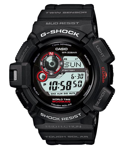 【特価品】カシオG-SHOCK海外モデル マッドマン G-9300-1