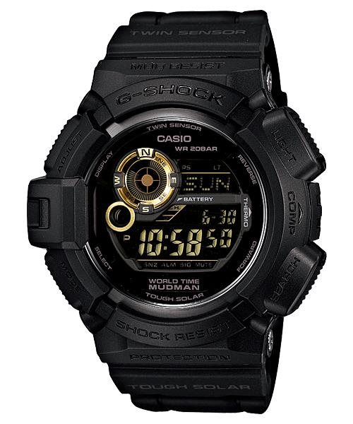 【特価品】カシオG-SHOCK海外モデルマッドマン (ブラック×ゴールド) G-9300GB-1