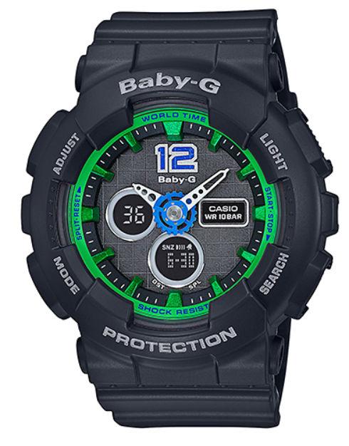 【あす楽対応商品】カシオ海外モデルBaby-G スポーティモデル BA-120-1B