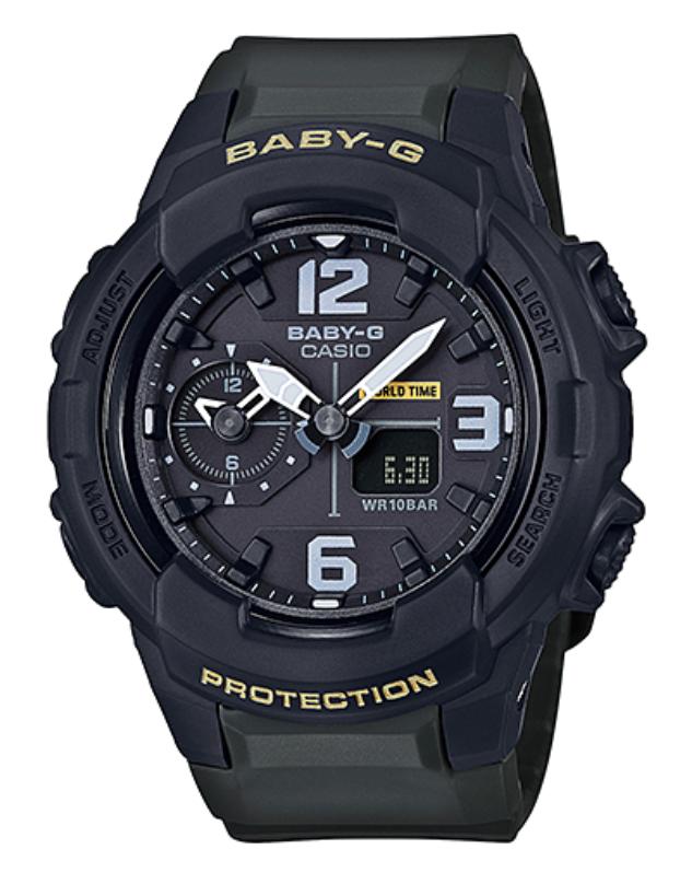 【あす楽対応商品】カシオ海外モデルBaby-G ミリタリースタイル アナログ BGA-230-3B