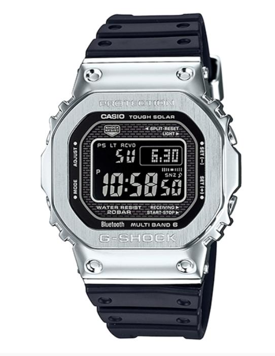 【特価品】カシオG-SHOCK海外モデル電波ソーラーフルメタルケース GMW-B5000-1